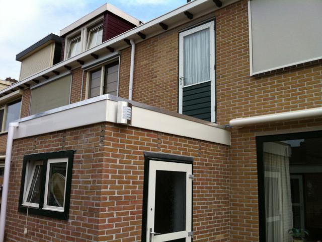 balkon na dakwerk